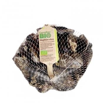 Mejillón fresco ecológico Carrefour Bio 1 kg