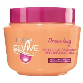 Mascarilla reconstructora para pelo largo y dañado Dream Long L'Oréal Elvive 300 ml.