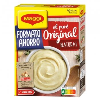 Puré de patatas Maggi sin gluten 520 g.