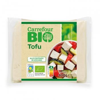 Tofu natural ecológico Carrefour Bio 400 g.