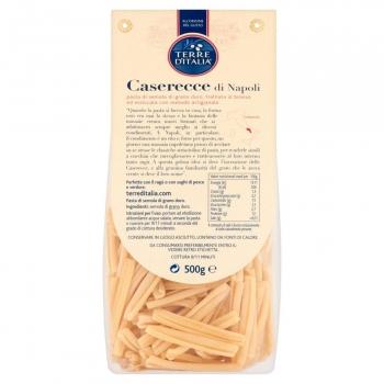Caserecce Terre d'Italia sin gluten 500 g.