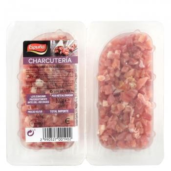 Mini taquitos de jamón curado Espuña 2x50g, 100 g