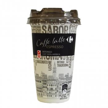 Café latte espresso Carrefour sin gluten 250 g.