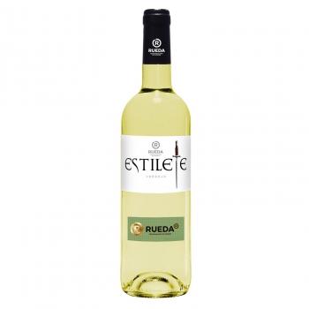 Vino blanco verdejo Estilete D.O. Rueda 75 cl.