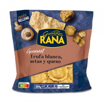 Ravioli de trufa, setas y queso Rana 250 g.