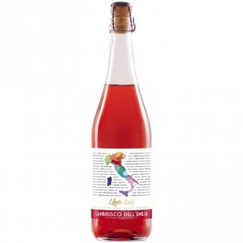 Vino frizzzante lambrusco rosado Amabile Bautista Marti 75 cl.