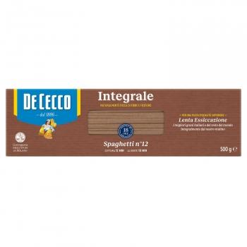 Spaghetti nº12 integral De Cecco 500 g.