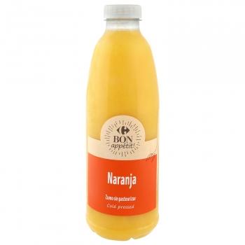 Zumo de naranja Carrefour botella 1 l.