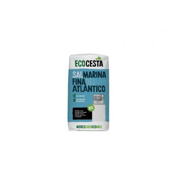 Sal marina fina ecológica Ecocesta 1 kg.