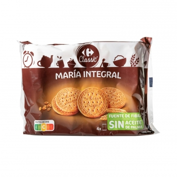 Galletas integrales María Carrefour 800 g.