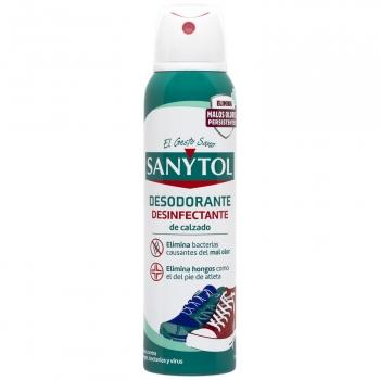 Desodorante desinfectante Sanytol 150 ml.