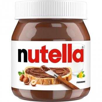 Crema de cacao con avellanas Nutella sin gluten 450 g.
