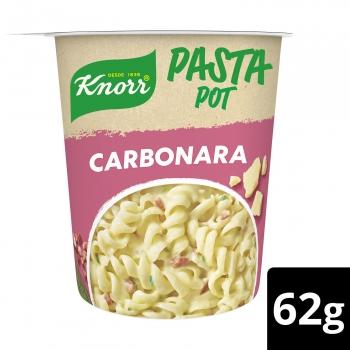 Pasta con salsa carbonara Knorr 62 g.