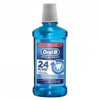 Enjuague bucal Protección Profesional Pro-Expert Oral-B 500 ml.