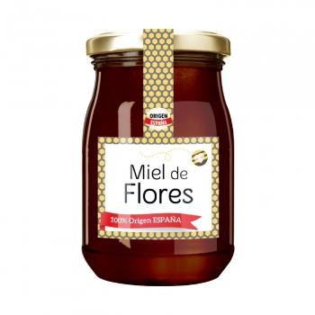 Miel artesana flores 500 g