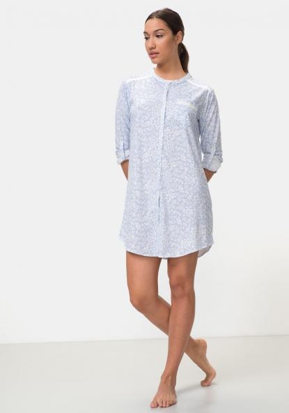 5853087cfb Pijamas y Homewear Mujer. Mostrando 21 de 98 artículos. Camisón estampado  manga larga TEX