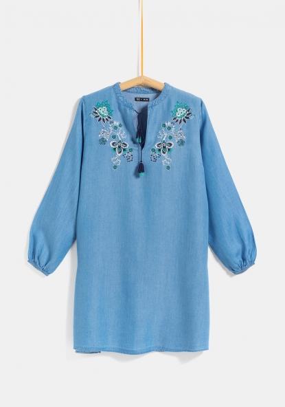 8f00329a8 SOSTENIBLE Vestido de lyocell para Tallas Grandes TEX