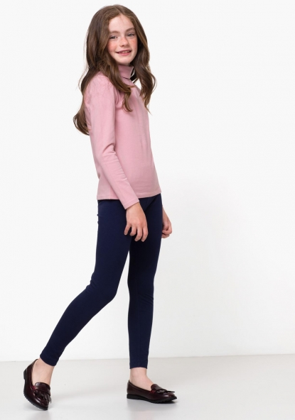 Legging largo liso Algodón Sostenible TEX