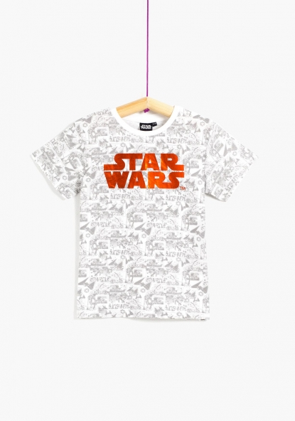 Camiseta estampada Star Wars de DISNEY