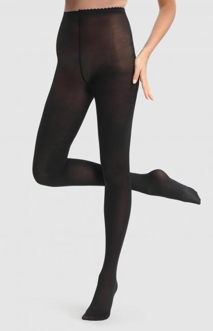 Dim Panty Efecto Media Opaca 60 DEN para Mujer