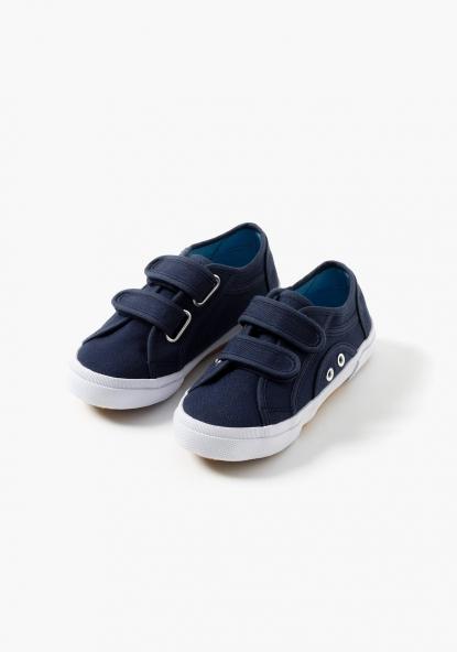 Zapatillas de lona lisas TEX (Tallas 20 a 30)