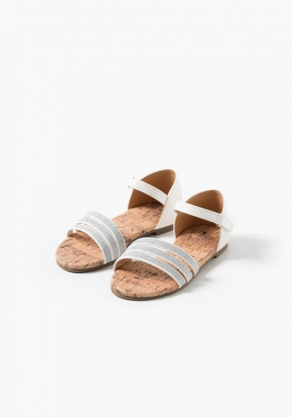 Sandalias brillantes TEX (Tallas 25 a 30)
