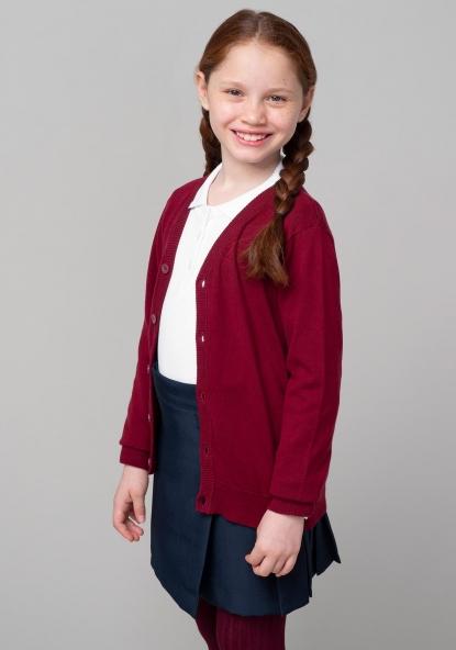 fa50b0b1e8c10 Chaqueta de algodón unisex para uniforme (tallas 3 a 18 años) TEX