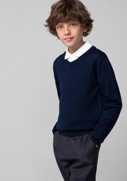 ddbbfb15 Jersey de lana unisex para uniforme (tallas 2 a 18 años) TEX