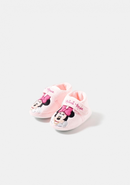 Zapatillas de estar por casa con estampado Minnie y Mickey de Disney (Tallas 21-30)
