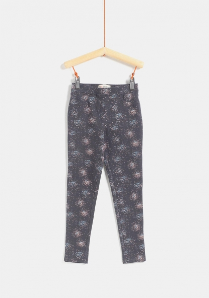 Jegging de punto estampado TEX