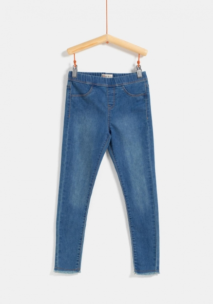 Jegging stretch con bolsillos TEX