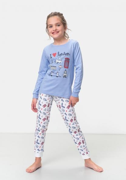 2da3bf88b3c SOSTENIBLE Pijama de dos piezas Algodón Sostenible TEX