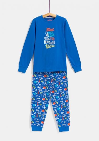 SOSTENIBLE Pijama dos piezas de Algodón Sostenible (Tallas 9 a 16) TEX 121bdc1d465e6