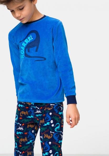 Pijama dos MÁS piezas TEX terciopelo 10 5EqdWcq