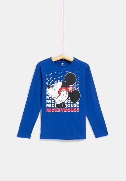 Camiseta manga larga estampada de DISNEY