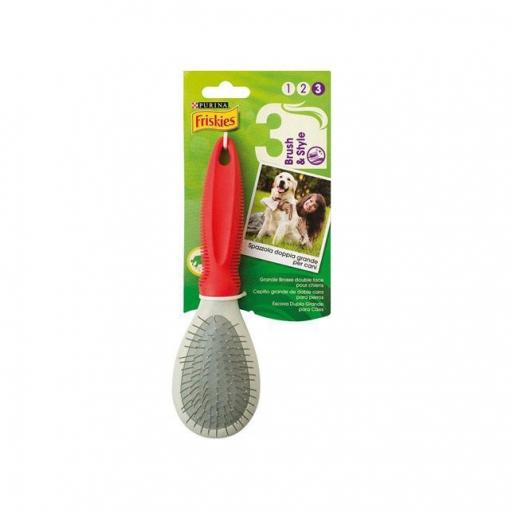 Cepillo Grande para Perro Purina Friskies Beauty Doble Cara de ...