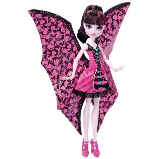 Monster High - Draculaura Monstruita Murciélaga