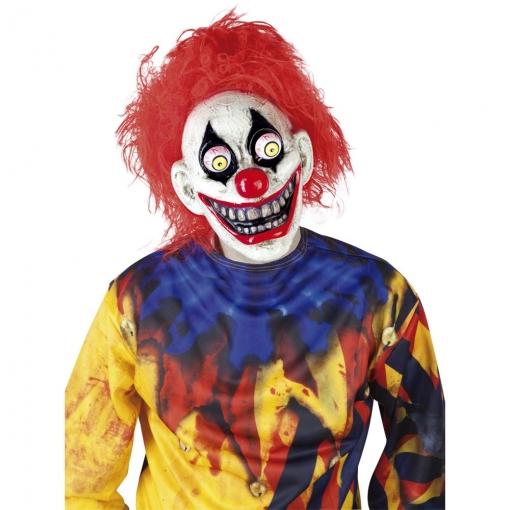 Mascara The Clown Ojos Moviles