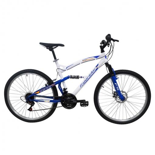 "Mountain Bike Suspensión Total 26""  18 V"