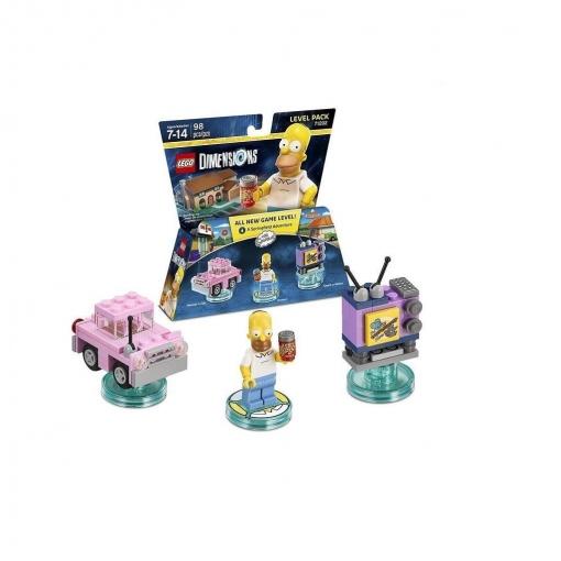 Lego Dimensions Level Pack The Simpsons | Las mejores ofertas de ...
