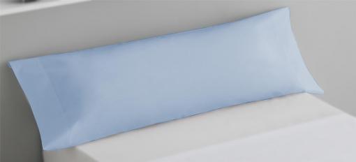 Funda de Almohada microfibra 45x115 cm Azul