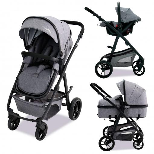 Carrito De Bebé 2 Piezas Asalvo Convertible Las Mejores Ofertas De Carrefour