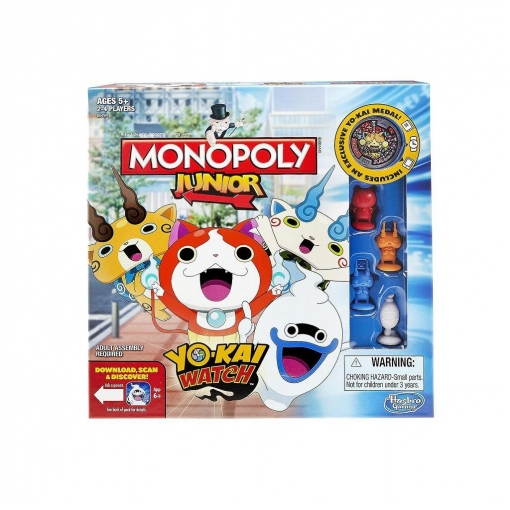 Hasbro - Monopoly Junior yokai Watch