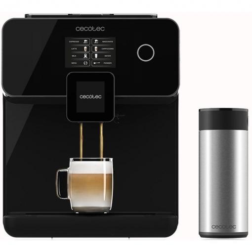 Cafetera Superautomática Cecotec Power Matic-CCINO 8000 Touch S Negra