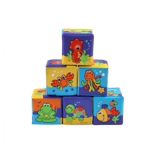 Cubos Blandos Apilables Playgro