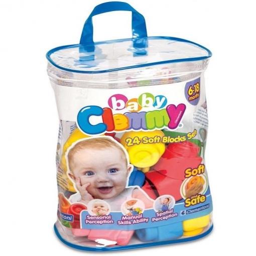 Clementoni - Clemmy Baby Bolsa 24 Bloques
