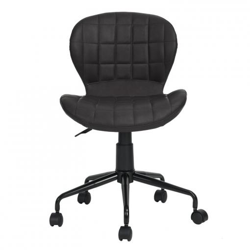 Silla de Oficina 89x48,5 cm - Negro | Las mejores ofertas de Carrefour