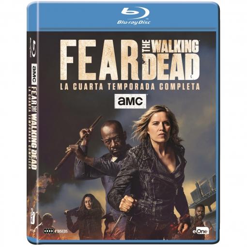 Fear The Walking Dead. Temporada 4. Blu-Ray