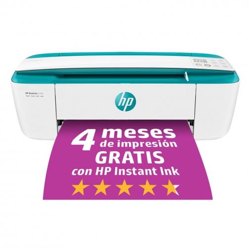 Impresora Multifunción HP Deskjet 3762 - Verde