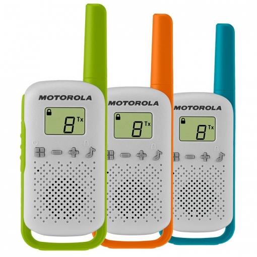 Pack 3 Walkie Motorola T42
